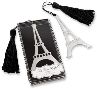 Eiffel Tower Bookmark Favor