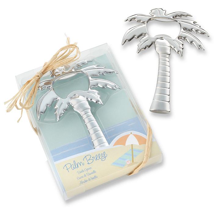 palm tree bottle opener favor. Black Bedroom Furniture Sets. Home Design Ideas