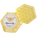 """Meant to Bee"" Honey-scented Honeycomb Soap Favor"