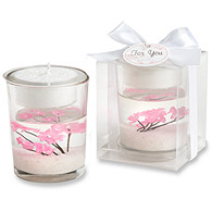 Cherry Blossom-filled Tealight Holder