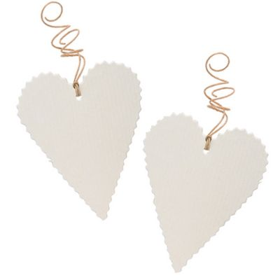Vintage Heart Favor Tag