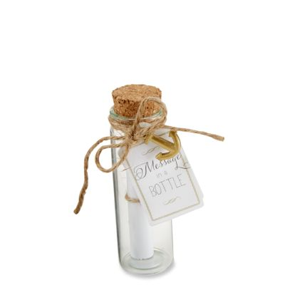 Message in a Bottle Glass Favors