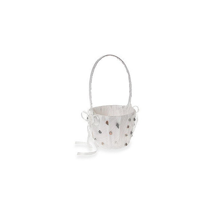 The Knot On The Beach Flower Girl Basket
