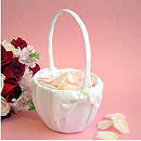 Love Knot Flower Girl Basket
