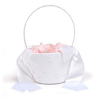 Floral Flower Girl Basket