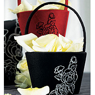 Botanical Flower Girl Basket