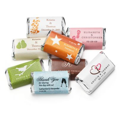 Personalized HERSHEY'S MINIATURES® Chocolates
