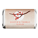 Personalized HERSHEY'S MINIATURES® Chocolates - Cherry Blossom