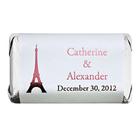 Personalized HERSHEY'S MINIATURES® Chocolates - Paris