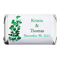 Personalized Metallic HERSHEY'S MINIATURES® Chocolates - Foliage