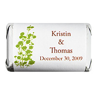 Personalized HERSHEY'S MINIATURES® Chocolates - Foliage (Grass)