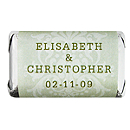 Personalized HERSHEY'S MINIATURES® Chocolates - Regal (Mint)