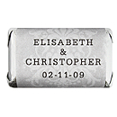 Personalized HERSHEY'S MINIATURES® Chocolates - Regal (Silver)