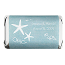 Personalized HERSHEY'S MINIATURES® Chocolates - Starfish (Blue)