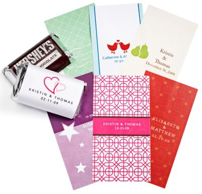 Personalized Mini Chocolate Labels
