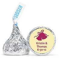 Personalized HERSHEY'S® Kisses - Wedding Bells