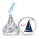 Personalized HERSHEY'S® Kisses - Sailboat