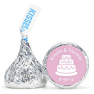 Personalized HERSHEY'S® Kisses - Cake (Pink)