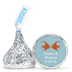 Personalized HERSHEY'S® Kisses - Kissing Fish