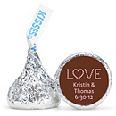 Personalized HERSHEY'S® Kisses - Love (Pink)