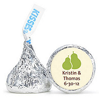 Personalized HERSHEY'S® Kisses - The Perfect Pair