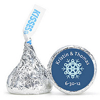 Personalized HERSHEY'S® Kisses - Snowflake