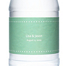 Personalized Water Bottles - Pin Dot (Mint)