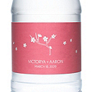 Personalized Water Bottles - Pink Blossom