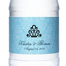 Personalized Water Bottles - Regal (Blue)