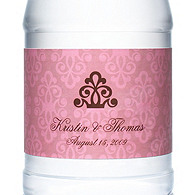 Personalized Water Bottles - Regal (Pink)