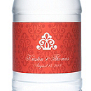 Personalized Water Bottles - Regal (Red)