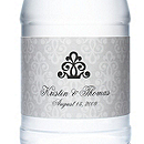 Personalized Water Bottles - Regal (Silver)