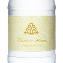 Personalized Water Bottles - Regal (Yellow)