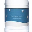 Personalized Water Bottles - Snowdrift
