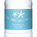Personalized Water Bottles - Starfish (Blue)