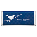 Personalized Large HERSHEY'S® Chocolate Bars - Bird (Navy)