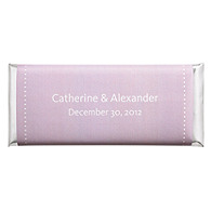 Personalized Large HERSHEY'S® Chocolate Bars - Pin Dot (Lavender)