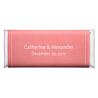 Personalized Large HERSHEY'S® Chocolate Bars - Pin Dot (Pink)