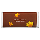 Personalized Large HERSHEY'S® Chocolate Bars - Fall Leaves