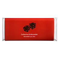 Personalized Large HERSHEY'S® Chocolate Bars - Lucky in Love