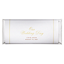 Personalized Large HERSHEY'S® Chocolate Bars - Our Wedding Day (Gold)