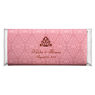Personalized Large HERSHEY'S® Chocolate Bars - Regal (Pink)