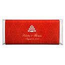 Personalized Large HERSHEY'S® Chocolate Bars - Regal (Red)