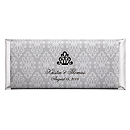 Personalized Large HERSHEY'S® Chocolate Bars - Regal (Silver)