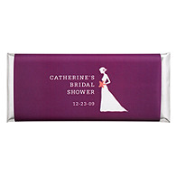 Personalized Large HERSHEY'S® Chocolate Bars - Bride (Shower)