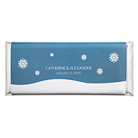 Personalized Large HERSHEY'S® Chocolate Bars - Snowdrift