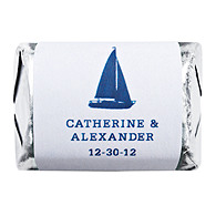 Personalized HERSHEY'S NUGGETS® Chocolates - Sailboat