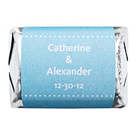 Personalized HERSHEY'S NUGGETS® Chocolates - Pin Dot (Blue)