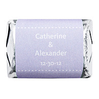 Personalized HERSHEY'S NUGGETS® Chocolates - Pin Dot (Lavender)