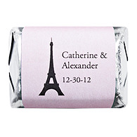 Personalized HERSHEY'S NUGGETS® Chocolates - Paris